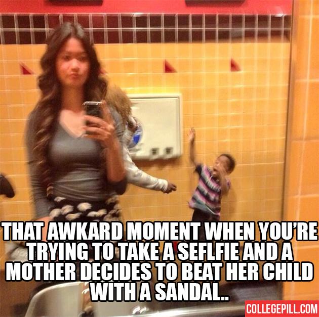 awkard-moment-selfie