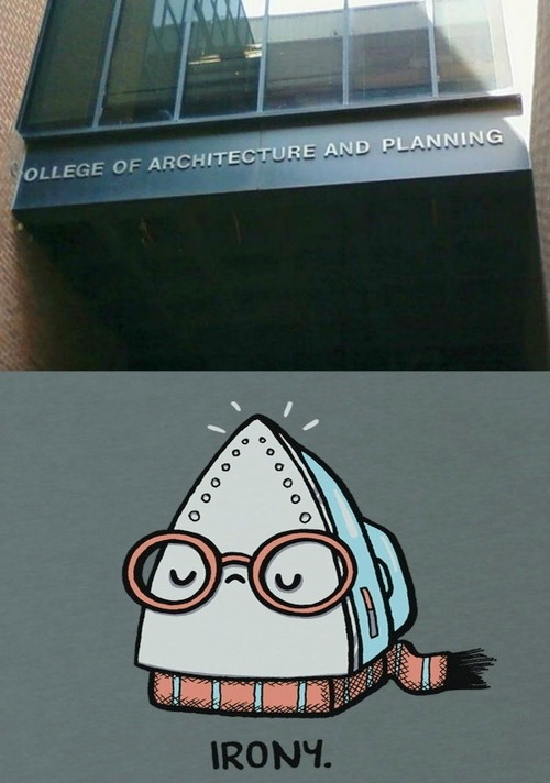 college-irony