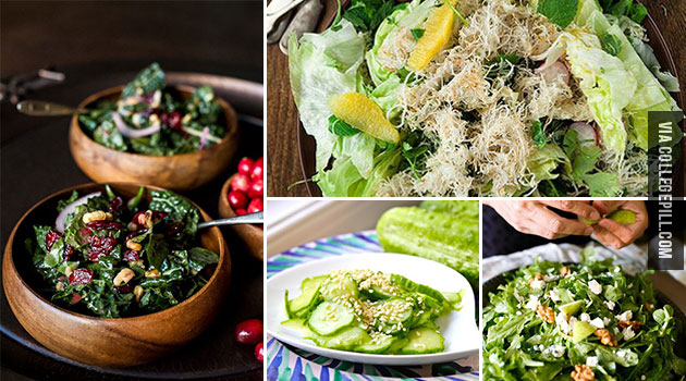 Food Porn: Fresh Salads (24 Pictures)