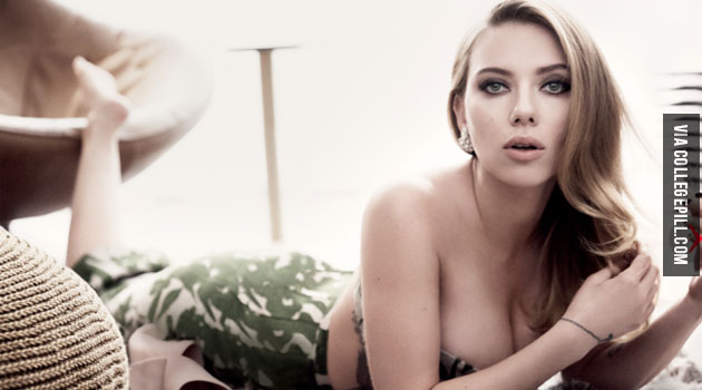 Celebrity Of The Week: Scarlett Johansson for Vanity Fair