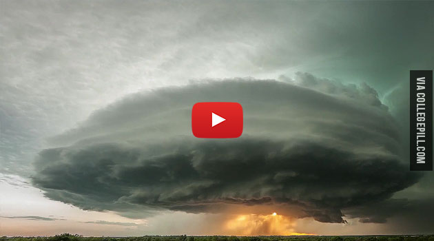 Amazing: See How A Supercell Thunderstorm Is Formed In Timelapse [VIDEO]