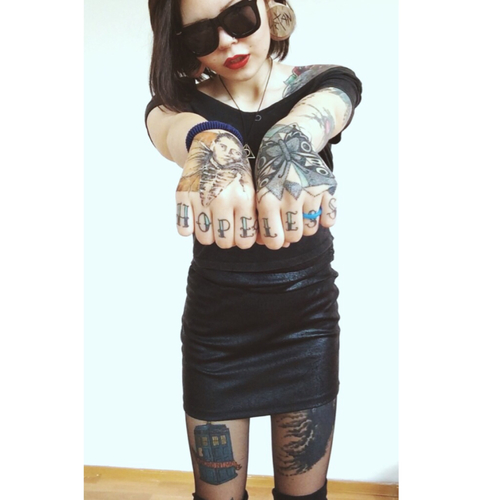 Sexy Girls With Tattoos Gallery