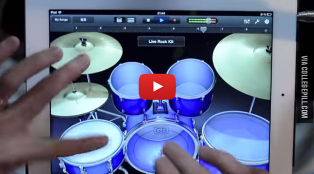 Japanese Guy Does A Mind Blowing iPad Finger Drum Solo [VIDEO]